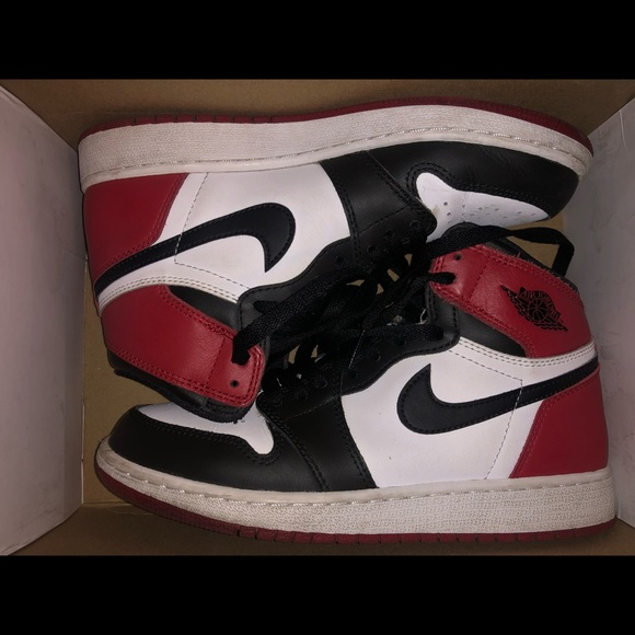 8c24a4ba4278d Nike Shoes | Air Jordan 1 Black Toe 2016 | Poshmark